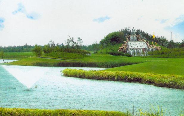球场预订 上海美兰湖高尔夫俱乐部